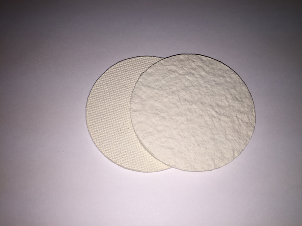 Cellulose Filter Discs - Regular Mouth, 70mm - 12