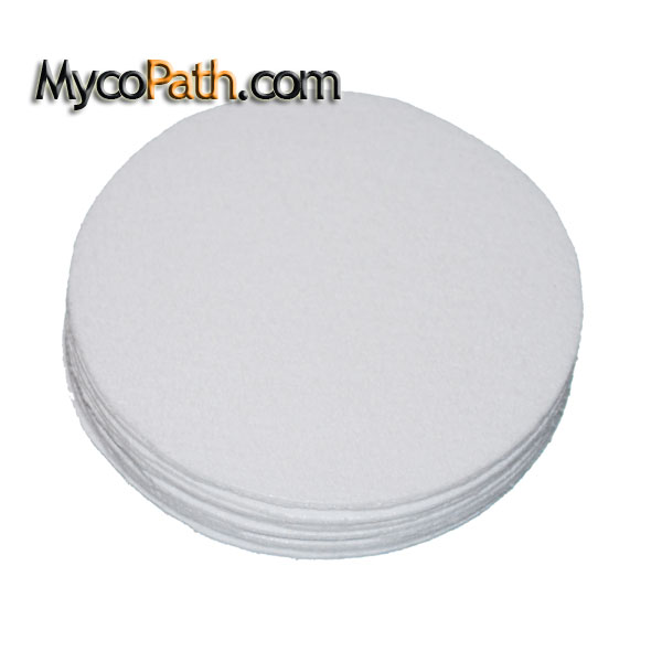 Synthetic Filter Discs - Large Mouth, 90mm - 12