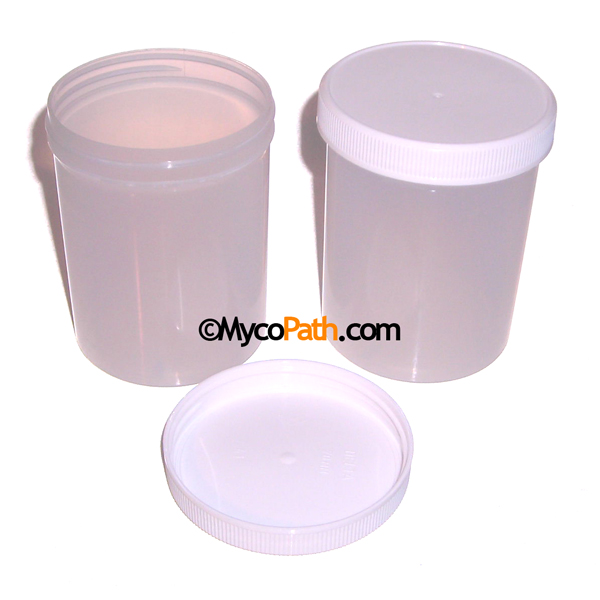 1/2 Pint Plastic Canning Jars with Lids