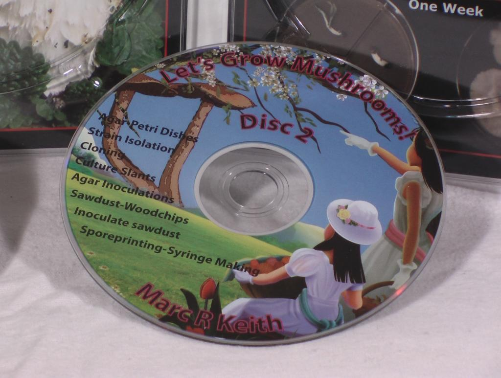 Lets Grow Mushrooms! 2 DVD Set, 3rd Edition - Click Image to Close