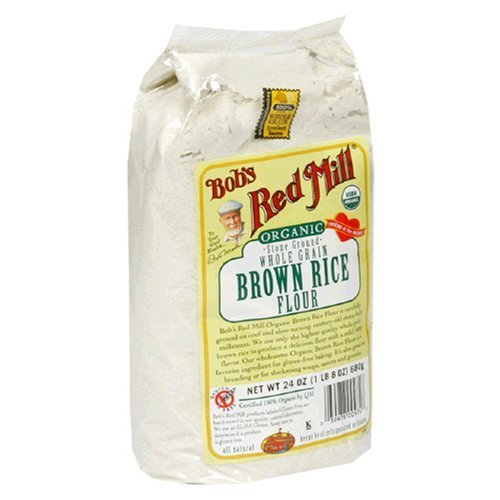 Organic Brown Rice Flour - 3 lb - $5 37 : Mycopath com