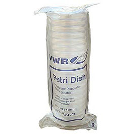 Petri Dishes VWR Disposable 20-Bag 100 x 15 mm